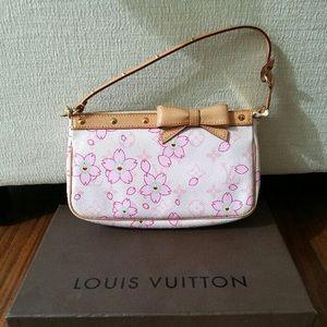 Authentic Louis Vuitton cherry blossom pochette